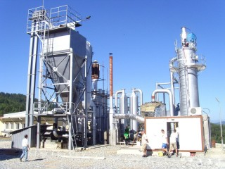 Biomass gasifier solutions