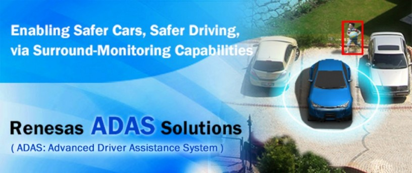 Renesas ADAS (Advanced Driver Assistance System) Solutions:
