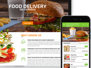 On Demand Food Delivery App Esiteworld